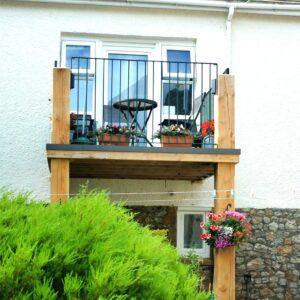Charmouth Coach House Balcony